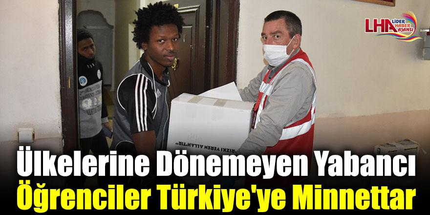 Ülkelerine Dönemeyen Yabancı Öğrenciler Türkiye'ye Minnettar