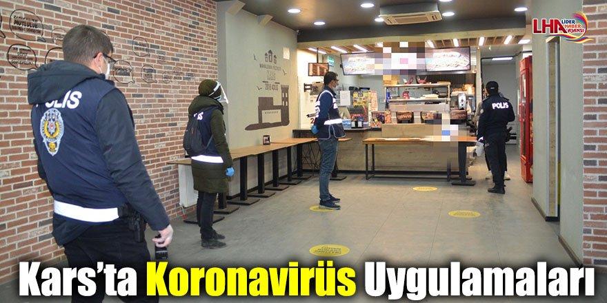 Kars'ta Koronavirüs Uygulamaları