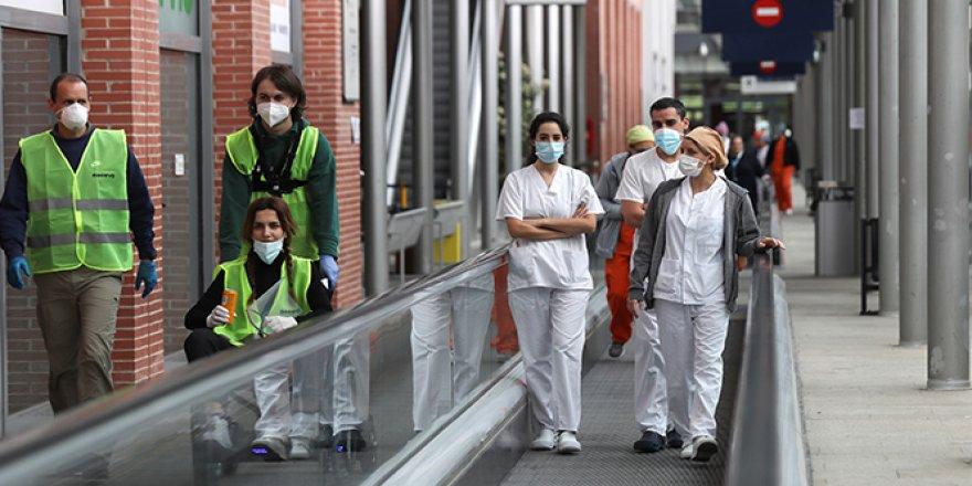 İspanya'da korona virüs nedeniyle can kaybı 20 bin 852'ye yükseldi