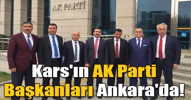 Kars´ın AK Parti Başkanları Ankara´da!