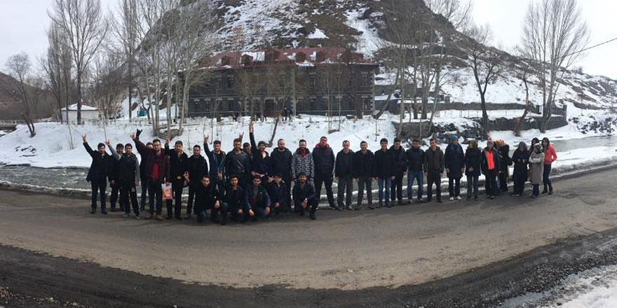 Kars Ülkü Ocakları yürüyüşe başladı!