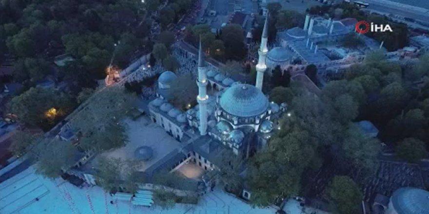 Ramazan'ın ilk iftarında Eyüpsultan Camii boş kaldı