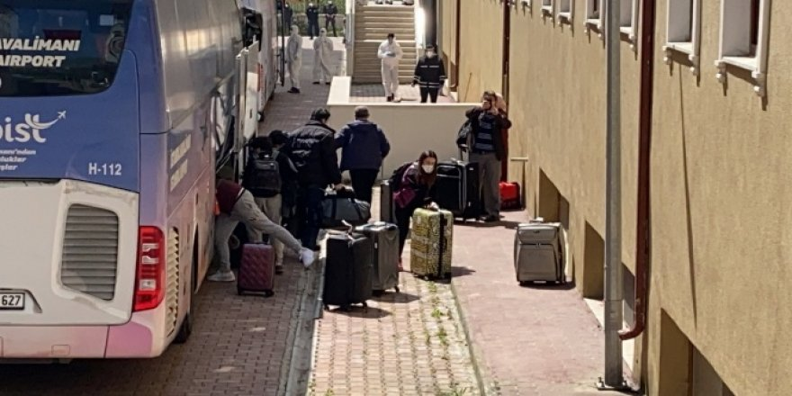 ABD'den gelen 225 kişi Düzce'de karantinaya alındı