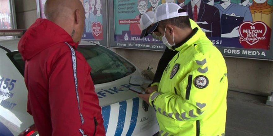 İstanbul Valiliği, sokağa çıkma kısıtlamasında yapılan işlemleri açıkladı