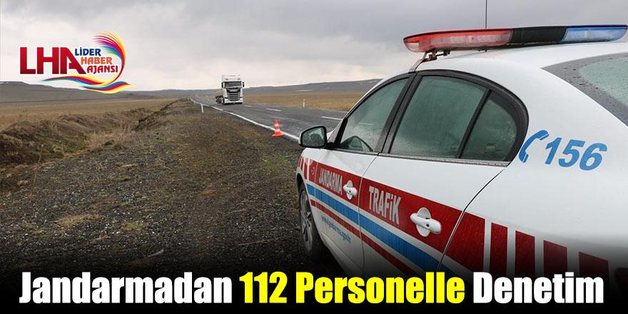 Jandarmadan 112 Personelle Denetim