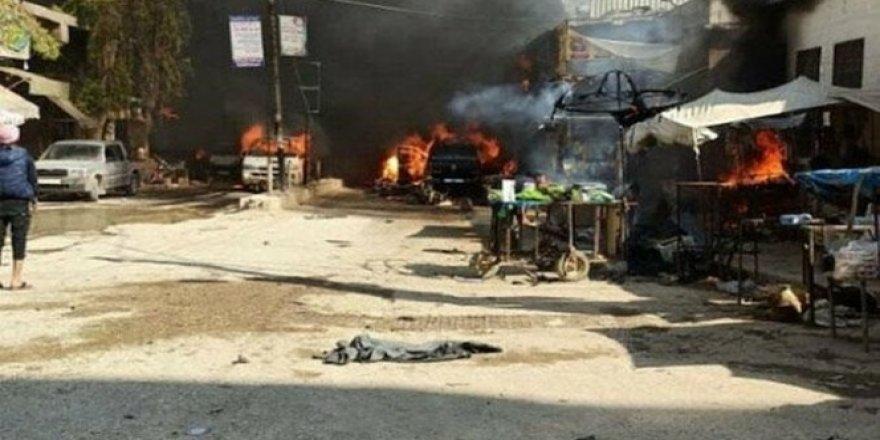 Afrin'de 42 kişi eyp patlaması sonucunda hayatını kaybetti