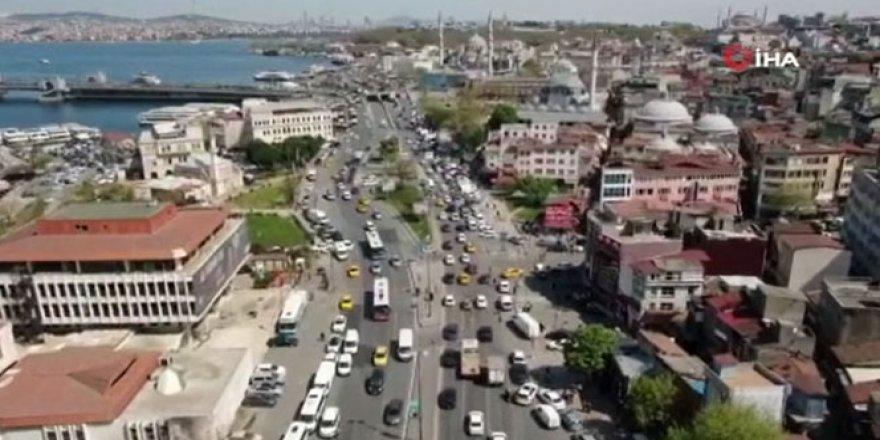 İstanbullular uyarıları dikkate almadı, trafik yoğunluğu başladı