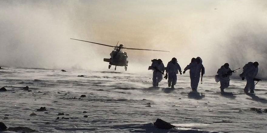 TSK'dan Tendürek Dağı'nda operasyon