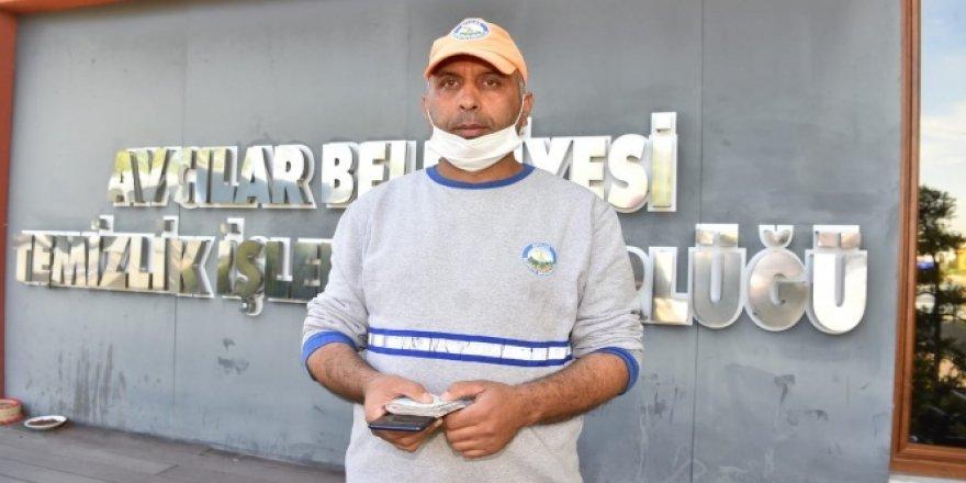 İstanbul'da temizlik işçisinden örnek davranış