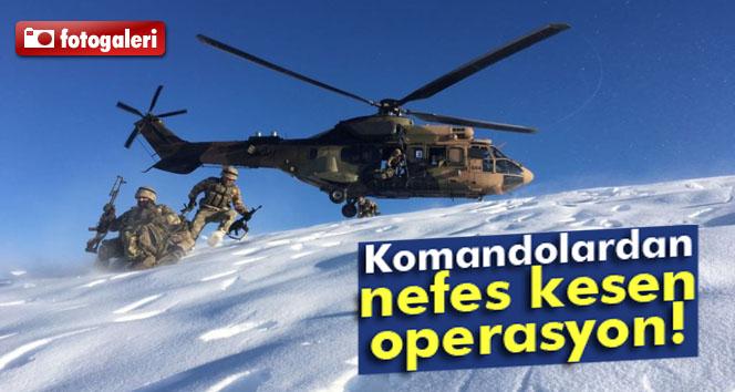 Komandolardan Kars, Tunceli, Siirt ve Bitlis'de Operasyon