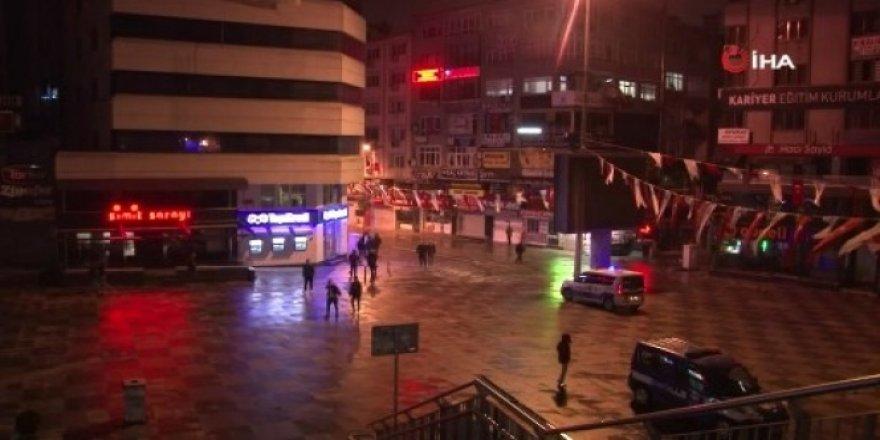 Sokağa çıkma kısıtlamasının ardından Şirinevliler sokağa döküldü