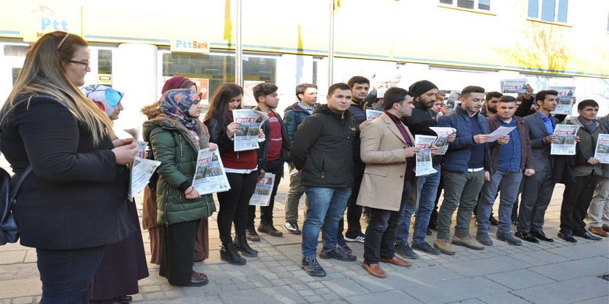Ak Gençler Kılıçdaroğlu'na 'Evet' Gazetesi Gönderdi
