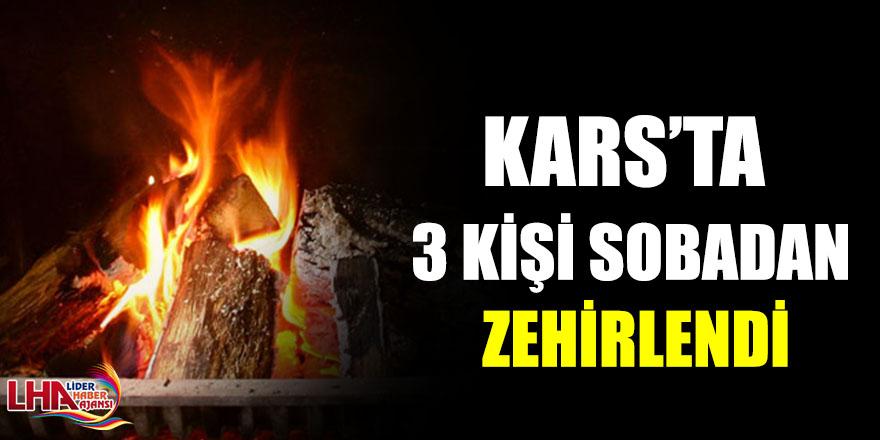 Kars'ta 3 Kişi Sobadan Zehirlendi