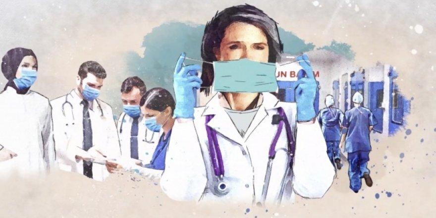AK Parti İstanbul İl Başkanlığı'ndan sağlık çalışanlarına teşekkür klibi