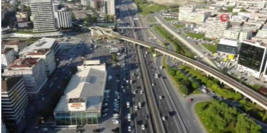 İstanbul'da trafik yoğunluğu korona virüs öncesine geri döndü