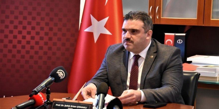 Anadolu Üniversite Rektörü Çomaklı istifa etti