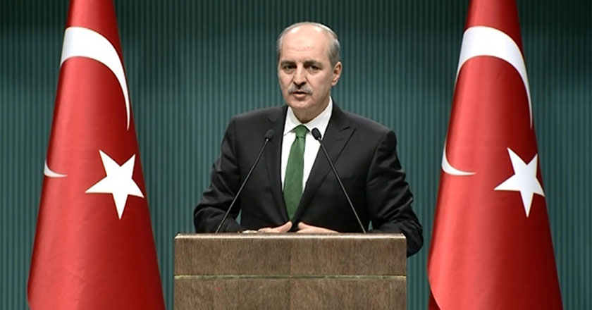 Numan Kurtulmuş: 'Hollanda Büyükelçisi'nin dönüşüne izin verilmeyecek'