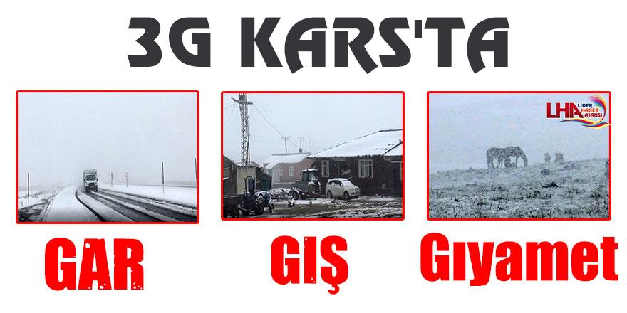 Kars'ta Gar, Gış, Gıyamet