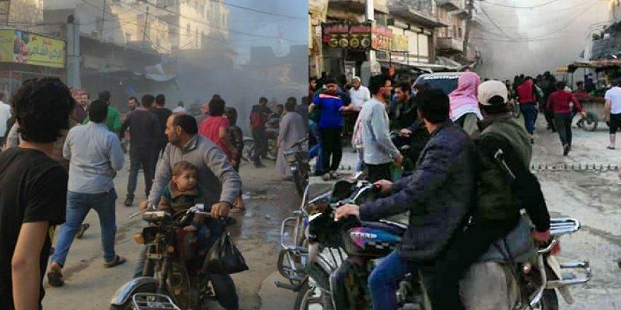 Suriye'de patlama! Yaralılar var
