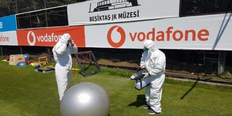 Nevzat Demir Tesisleri dezenfekte edildi
