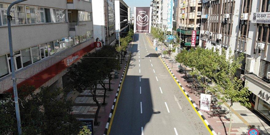 Manisa'da maske takılması zorunlu caddeler açıklandı