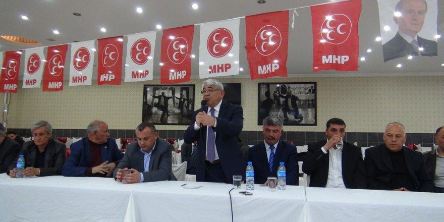 """MHP İl Başkanı'ndan """"Evet"""" Toplantısı"""