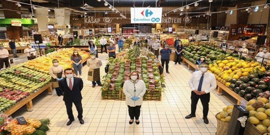 Güler Sabancı'dan CarrefourSA çalışanlarına tebrik ziyareti