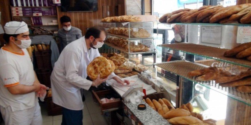 Beyoğlu zabıtası market ve fırınları denetledi