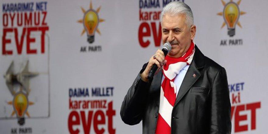 Başbakan Yıldırım Kars'ta Halka Seslendi!