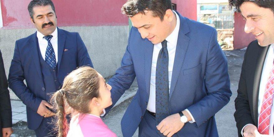 Selim Kaymakamı okul ziyaretlerine devam ediyor