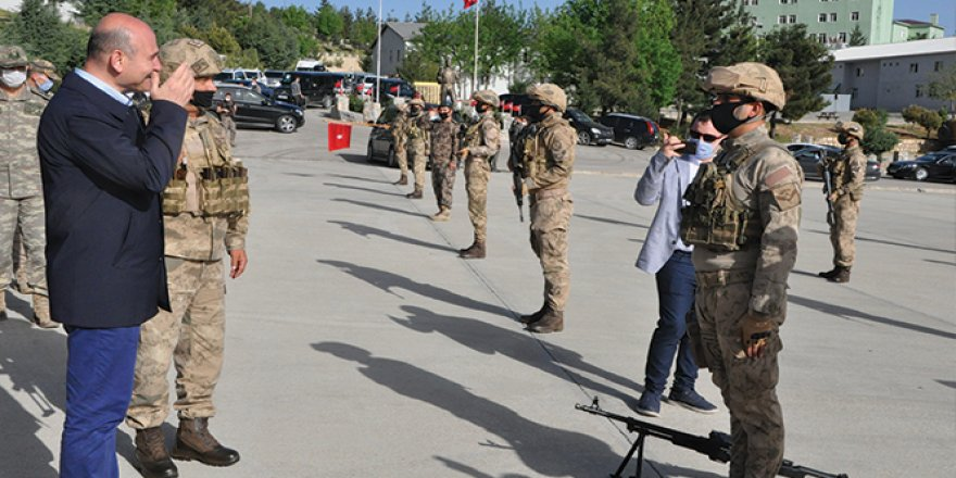 Bakan Soylu, operasyon birlikleriyle bir araya geldi
