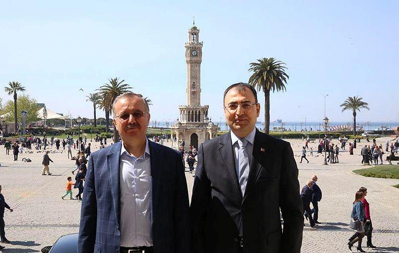 Kars Valisi'nden İzmir ziyareti