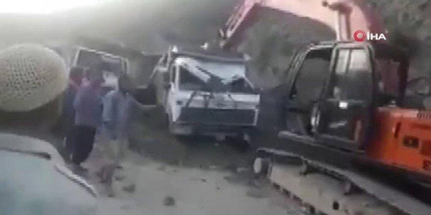 Keşmir'de heyelan: 1 ölü, 2 yaralı