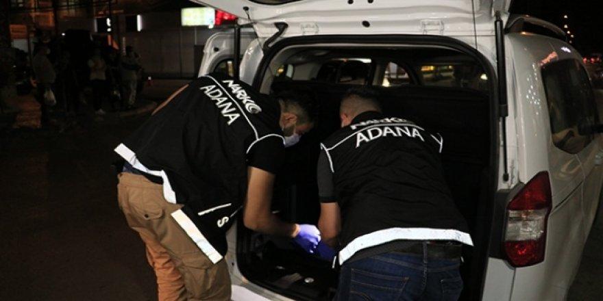 Adana'da 410 polisle operasyon