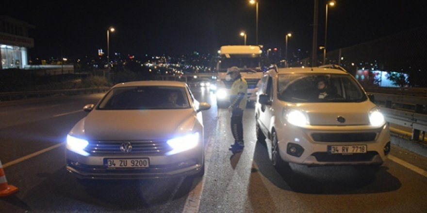 E-5 karayolunda trafik uygulaması gerçekleştirildi