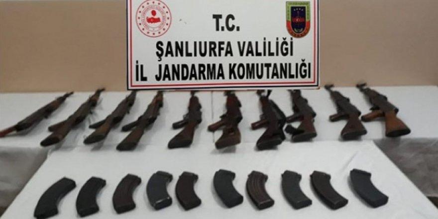 10 adet uzun namlulu silah ele geçirildi