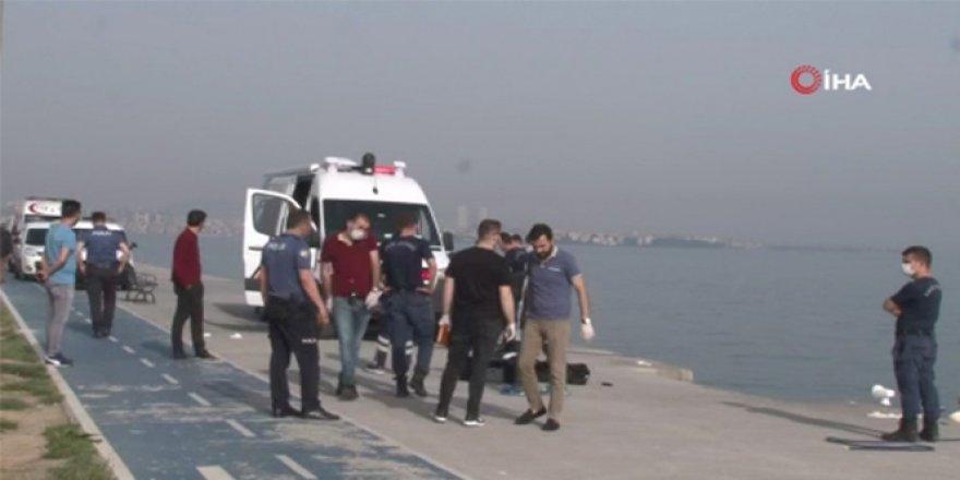Fatih'te sahilde erkek cesedi bulundu