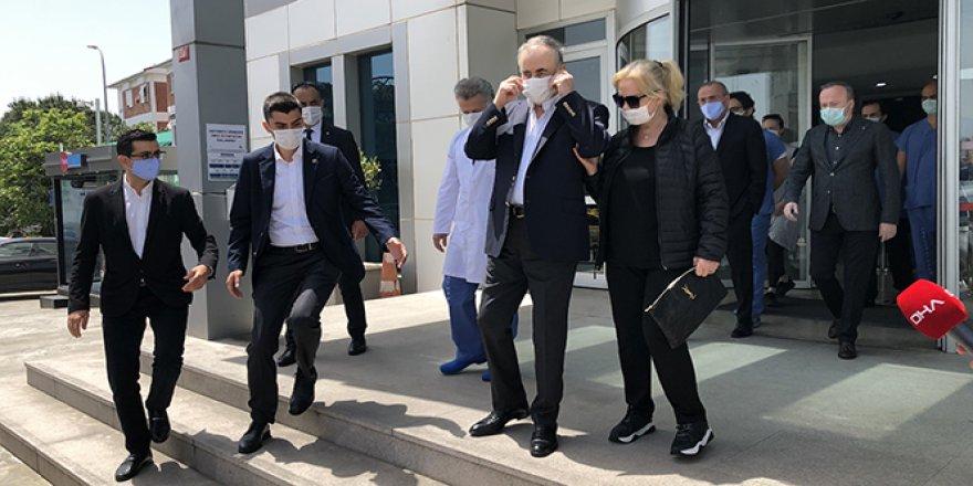 Galatasaray Başkanı Mustafa Cengiz ameliyata alındı