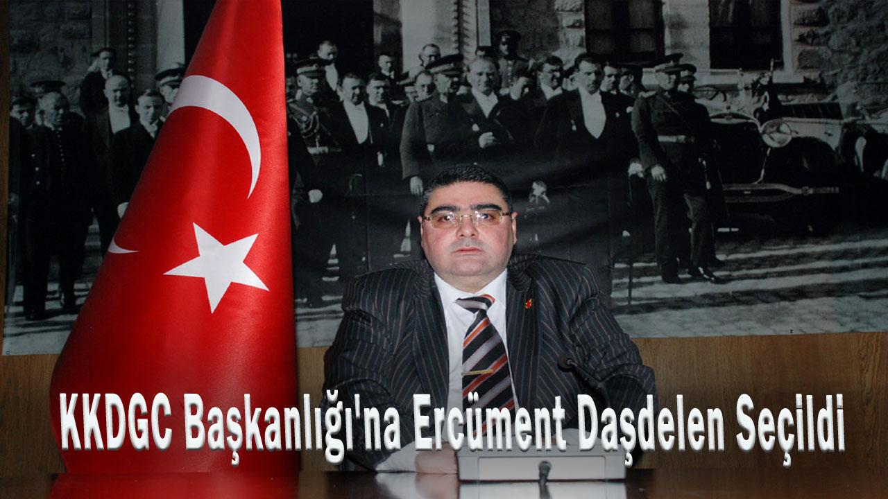 KKDGC Başkanlığına Ercüment Daşdelen seçildi