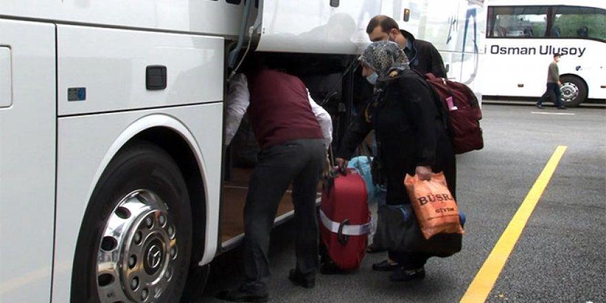 65 yaş üstü vatandaşlar İstanbul'dan ayrılmaya başladı