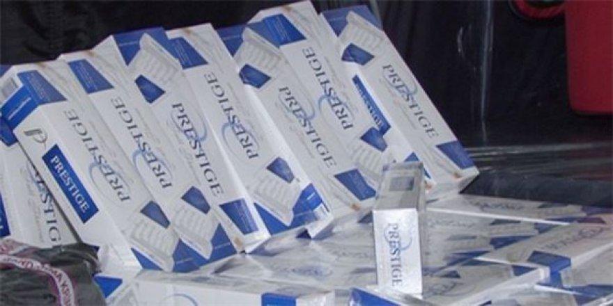 Sarıkamış'ta sigara kaçakçısına 5 bin 600 lira para cezası