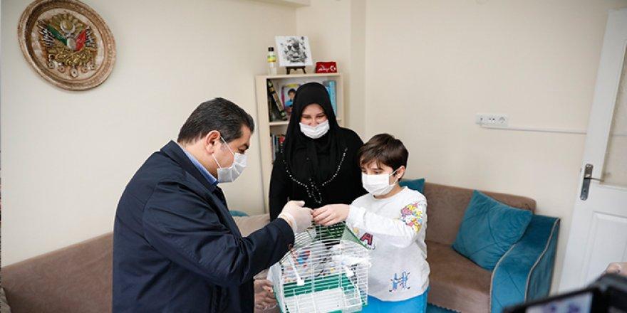 Erdoğan'dan 10 yaşındaki Miraç'a bayram hediyesi