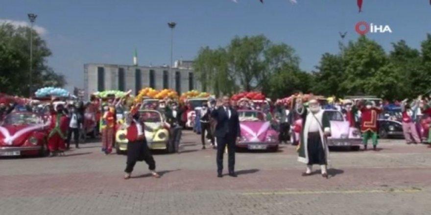 Sultangazi'de Ramazan Bayramı eğlencesi sokaklara taşındı