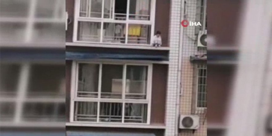 Çin'de 5 yaşındaki çocuk ölümden döndü