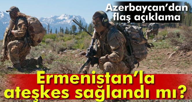 Azerbaycan ile Ermenistan arasında ateşkes sağlandı mı?