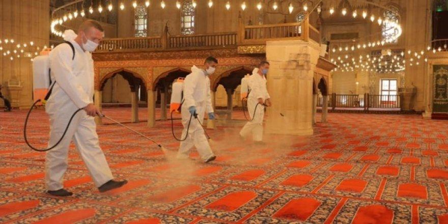 Selimiye Camii ibadete açılmaya hazırlanıyor