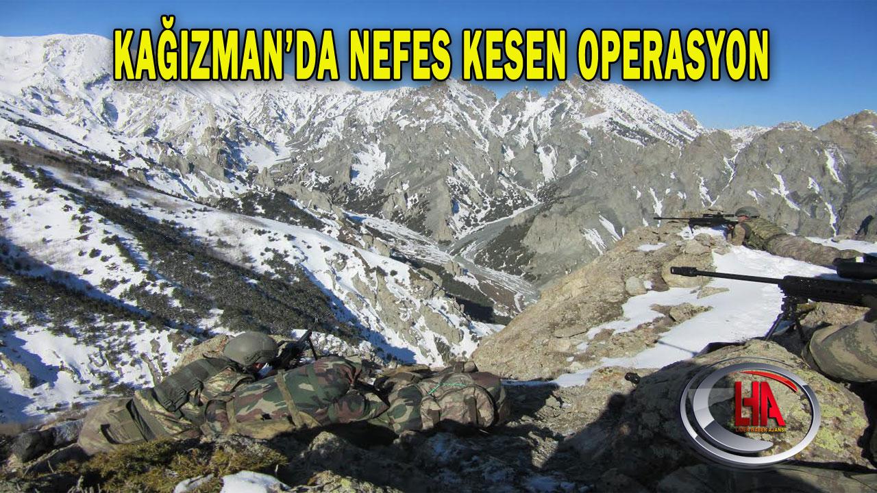 Kağızman'da Nefes Kesen Operasyon