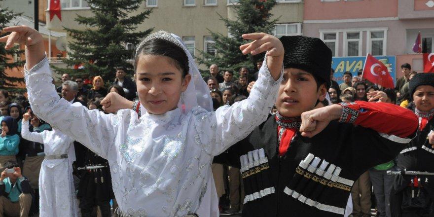 Kars'ta 23 Nisan coşkusu