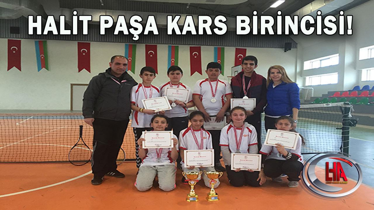 Halit Paşa Kars Birincisi!