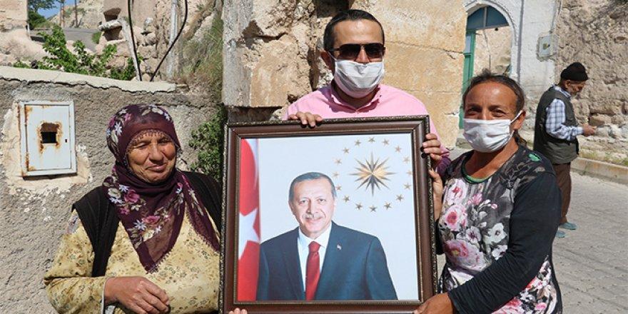 Engelli genç kızın Cumhurbaşkanı Erdoğan aşkı